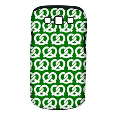 Green Pretzel Illustrations Pattern Samsung Galaxy S Iii Classic Hardshell Case (pc+silicone) by creativemom