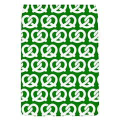 Green Pretzel Illustrations Pattern Flap Covers (s)  by creativemom