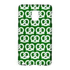 Green Pretzel Illustrations Pattern Galaxy Note Edge by creativemom
