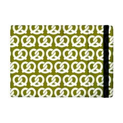 Olive Pretzel Illustrations Pattern Apple Ipad Mini Flip Case by creativemom