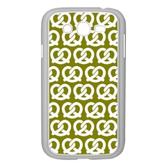 Olive Pretzel Illustrations Pattern Samsung Galaxy Grand DUOS I9082 Case (White) by creativemom