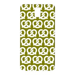 Olive Pretzel Illustrations Pattern Samsung Galaxy Note 3 N9005 Hardshell Back Case by creativemom