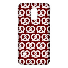 Red Pretzel Illustrations Pattern Galaxy S5 Mini by creativemom