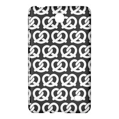 Gray Pretzel Illustrations Pattern Samsung Galaxy Tab 4 (8 ) Hardshell Case