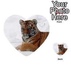 Tiger 2015 0101 Multi Purpose Cards (heart)  by JAMFoto