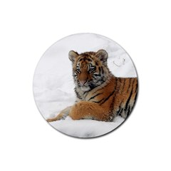 Tiger 2015 0101 Rubber Round Coaster (4 Pack)