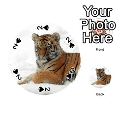 Tiger 2015 0101 Playing Cards 54 (round)  by JAMFoto