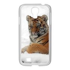 Tiger 2015 0101 Samsung Galaxy S4 I9500/ I9505 Case (white)