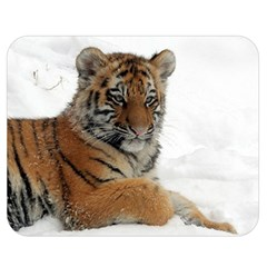 Tiger 2015 0102 Double Sided Flano Blanket (medium)  by JAMFoto