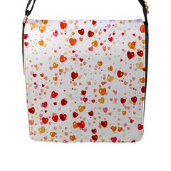 Heart 2014 0604 Flap Messenger Bag (L)