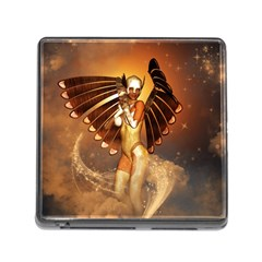 Beautiful Angel In The Sky Memory Card Reader (Square) by FantasyWorld7