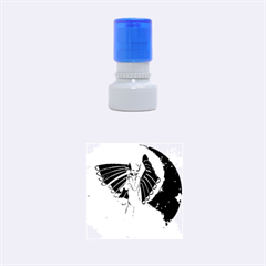 Beautiful Angel In The Sky Rubber Round Stamps (small)