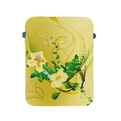 Wonderful Soft Yellow Flowers With Leaves Apple Ipad 2/3/4 Protective Soft Cases by FantasyWorld7