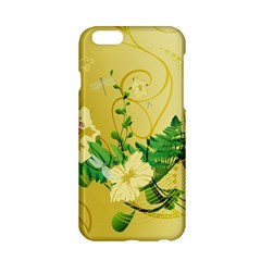 Wonderful Soft Yellow Flowers With Leaves Apple Iphone 6/6s Hardshell Case by FantasyWorld7