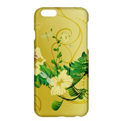 Wonderful Soft Yellow Flowers With Leaves Apple Iphone 6 Plus/6s Plus Hardshell Case by FantasyWorld7