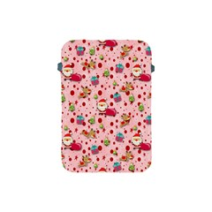 Red Christmas Pattern Apple Ipad Mini Protective Soft Cases by KirstenStar