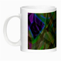 Colorful Abstract Stained Glass G301 Night Luminous Mugs by MedusArt