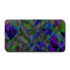 Colorful Abstract Stained Glass G301 Medium Bar Mats by MedusArt
