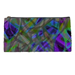 Colorful Abstract Stained Glass G301 Pencil Cases by MedusArt