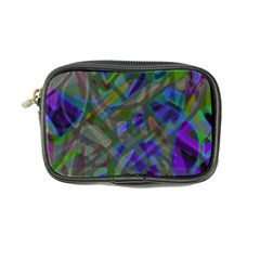 Colorful Abstract Stained Glass G301 Coin Purse by MedusArt