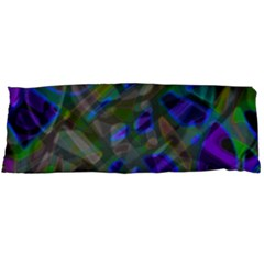 Colorful Abstract Stained Glass G301 Body Pillow Cases Dakimakura (two Sides)  by MedusArt