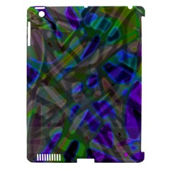 Colorful Abstract Stained Glass G301 Apple Ipad 3/4 Hardshell Case (compatible With Smart Cover) by MedusArt