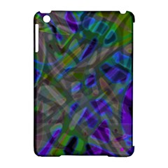 Colorful Abstract Stained Glass G301 Apple Ipad Mini Hardshell Case (compatible With Smart Cover) by MedusArt