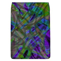 Colorful Abstract Stained Glass G301 Flap Covers (l)  by MedusArt