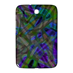 Colorful Abstract Stained Glass G301 Samsung Galaxy Note 8 0 N5100 Hardshell Case  by MedusArt
