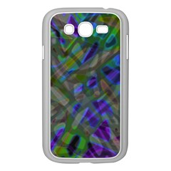 Colorful Abstract Stained Glass G301 Samsung Galaxy Grand Duos I9082 Case (white) by MedusArt
