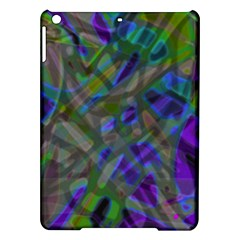 Colorful Abstract Stained Glass G301 Ipad Air Hardshell Cases by MedusArt
