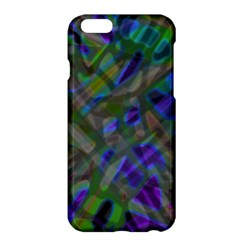 Colorful Abstract Stained Glass G301 Apple Iphone 6 Plus/6s Plus Hardshell Case by MedusArt