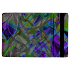 Colorful Abstract Stained Glass G301 Ipad Air 2 Flip by MedusArt