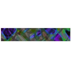 Colorful Abstract Stained Glass G301 Flano Scarf (large)  by MedusArt