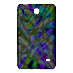 Colorful Abstract Stained Glass G301 Samsung Galaxy Tab 4 (8 ) Hardshell Case  by MedusArt