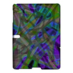 Colorful Abstract Stained Glass G301 Samsung Galaxy Tab S (10 5 ) Hardshell Case  by MedusArt