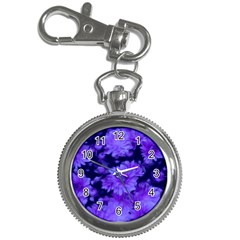 Phenomenal Blossoms Blue Key Chain Watches