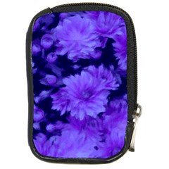 Phenomenal Blossoms Blue Compact Camera Cases by MoreColorsinLife