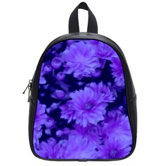 Phenomenal Blossoms Blue School Bags (small)  by MoreColorsinLife