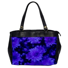 Phenomenal Blossoms Blue Office Handbags by MoreColorsinLife
