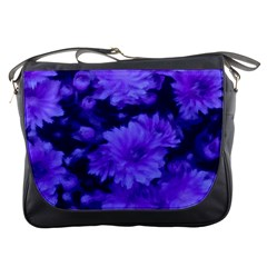Phenomenal Blossoms Blue Messenger Bags