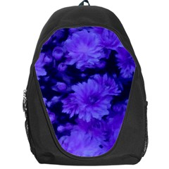 Phenomenal Blossoms Blue Backpack Bag