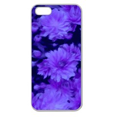 Phenomenal Blossoms Blue Apple Seamless Iphone 5 Case (clear)