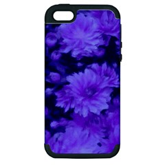 Phenomenal Blossoms Blue Apple Iphone 5 Hardshell Case (pc+silicone) by MoreColorsinLife