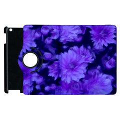 Phenomenal Blossoms Blue Apple Ipad 2 Flip 360 Case