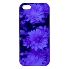 Phenomenal Blossoms Blue Apple Iphone 5 Premium Hardshell Case