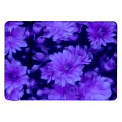 Phenomenal Blossoms Blue Samsung Galaxy Tab 8 9  P7300 Flip Case