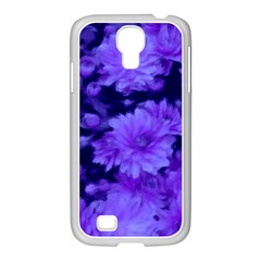 Phenomenal Blossoms Blue Samsung Galaxy S4 I9500/ I9505 Case (white)
