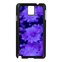 Phenomenal Blossoms Blue Samsung Galaxy Note 3 N9005 Case (black)