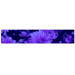 Phenomenal Blossoms Blue Flano Scarf (large)